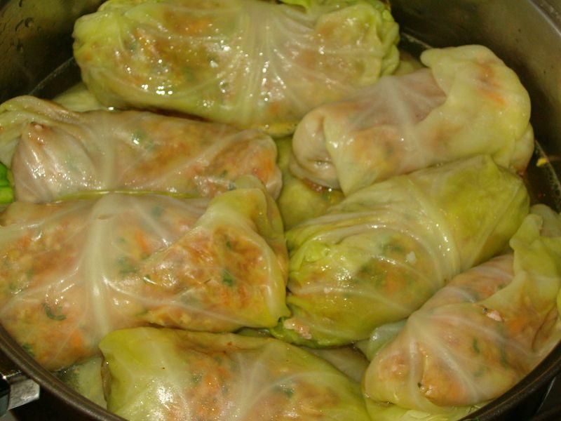 Голубцы с капустой рецепт с фото пошагово