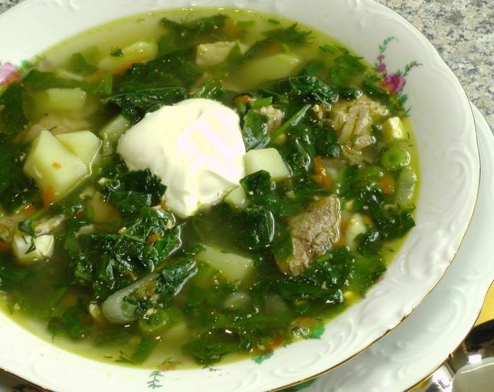 ДЕНЬ ПЕРВОГО БЛЮДА. Суп из огородной зелени