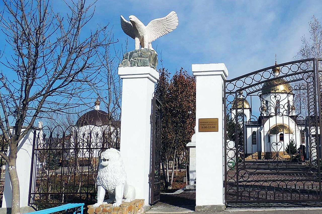 Благославляющий Христос в Ессентуках – самая высокая скульптура Иисуса в России