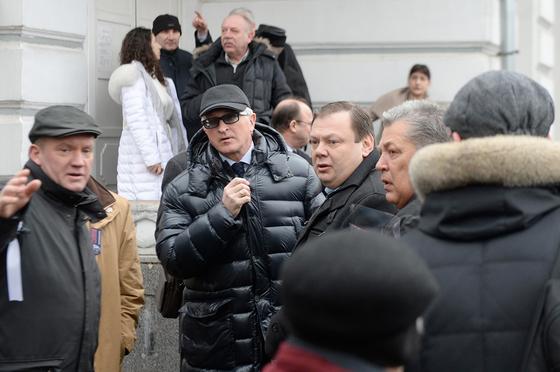 Член бюро Высшего совета партии «Единая Россия» Александр Шохин