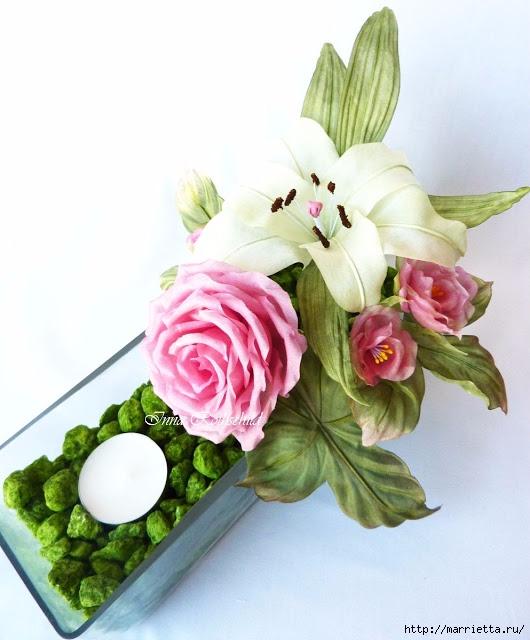 Цветы из шелка от Inna Rothschild (1) (530x640, 176Kb)