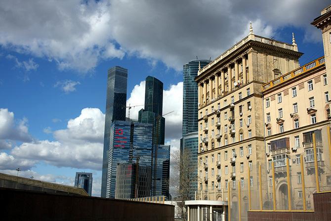 Смешение архитектурных стилей города