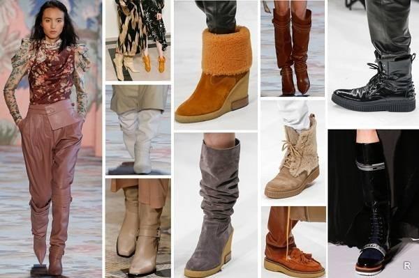 Модные тенденции на обувь осенью-зимой 2019-2020 годов