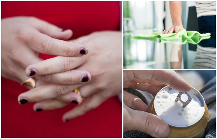 Ежедневные привычки, которые портят наши ногти
