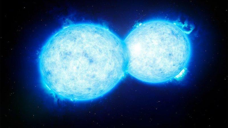 Вариант со слиянием Звезд астрономия, вселенная, звезды, интересное, космос, необычное, факт