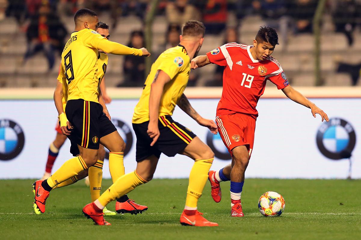Ринат Билялетдинов: В матче с Бельгией нашей сборной не хватило индивидуального мастерства