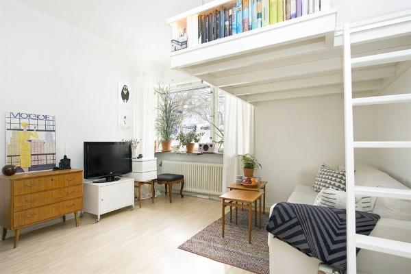 Умный дизайн однокомнатной квартиры 35 кв м фото интерьера