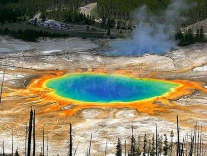Топ-10: Удивительные горячие источники со всего мира