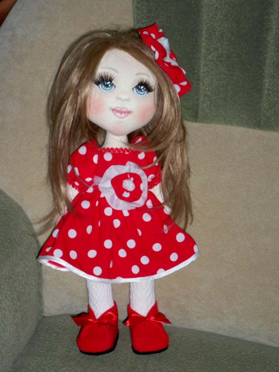 Текстильная кукла МАРИНКА.
