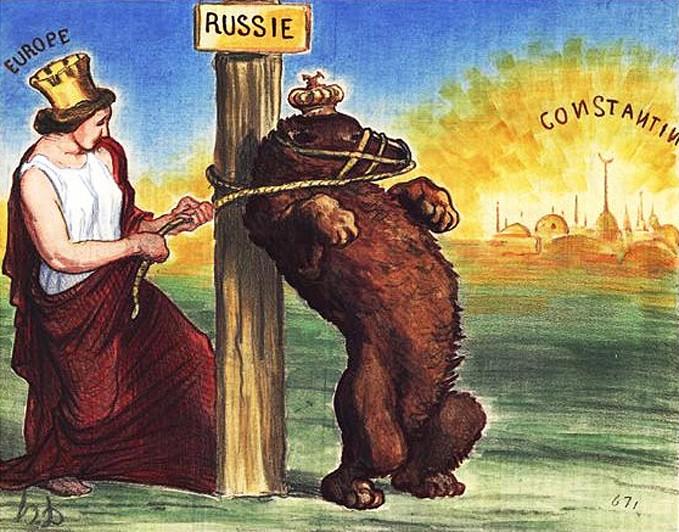 Европа всегда клеветала на Россию
