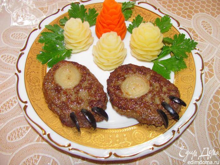 Горячее из свинины Медвежья лапа  кулинарный рецепт