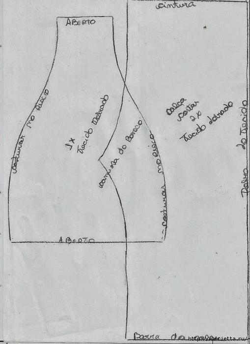 Шьем куколку ДОЛЛИ. Фото мастер-класс и выкройки (51) (509x700, 179Kb)