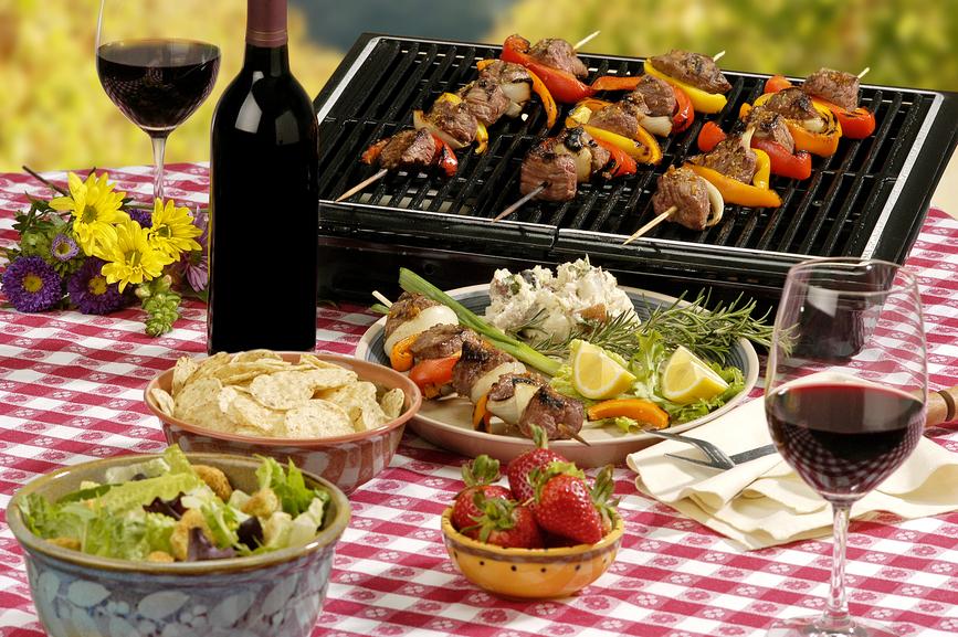 Едем на пикник по-кавказски!
