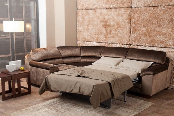модульный угловой диван со спальным местом