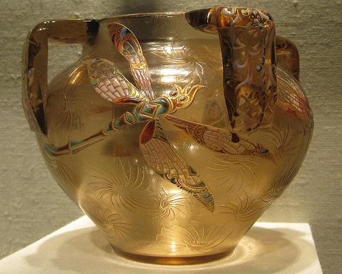 Стиль Модерн: вазы Галле