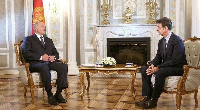 Лукашенко А.Г.: интервью телеканалу «Евроньюс»