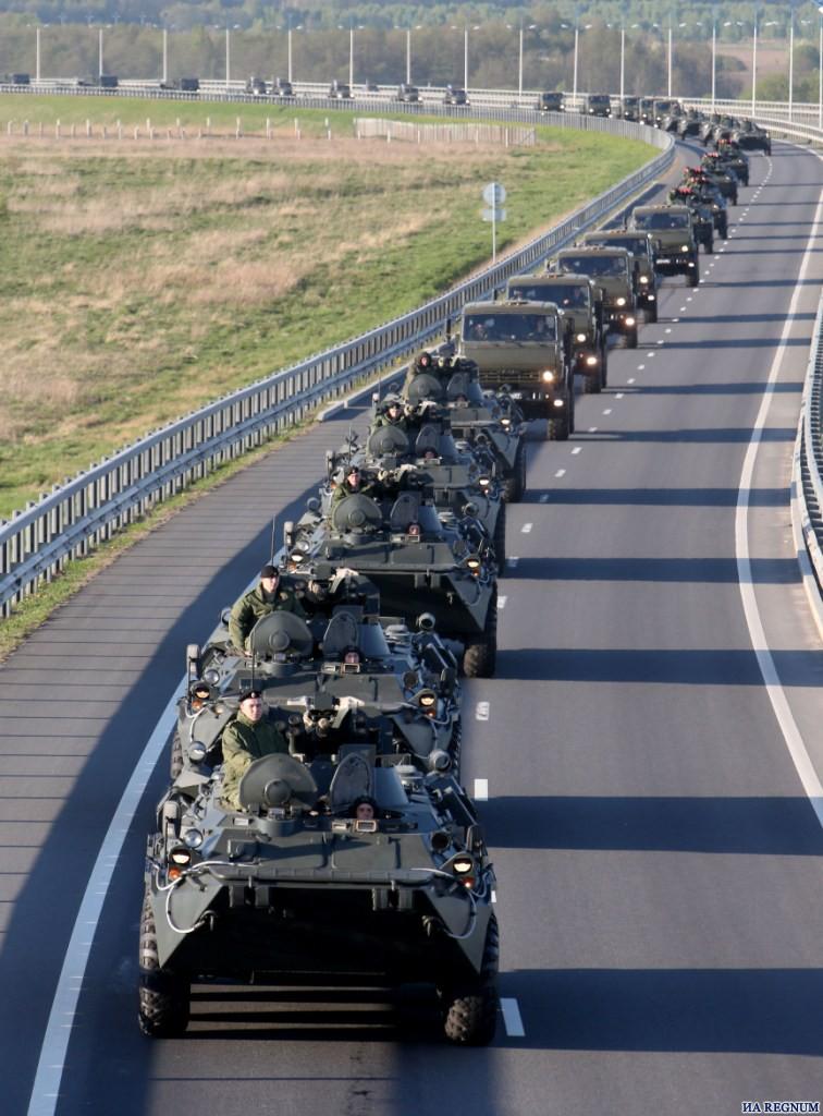 Калининградские военные возвращаются в пункты постоянной дислокации.