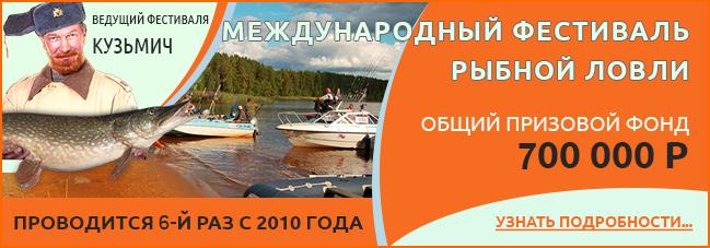 VI международный фестиваль пройдет на берегу Ладожского озера 07 августа 2015 г.