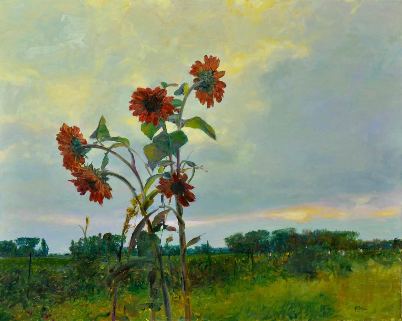 Есть что-то прекрасное в лете... Американский художник David Hettinger