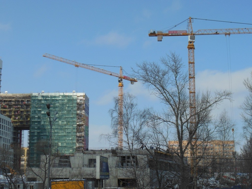 Строительство жилого монолитного многоэтажного дома