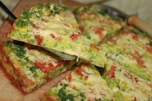 Кабачковая пицца!
