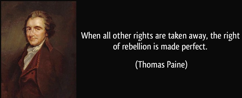 an analysis of thomas paines beliefs toward an american revolution in common sense