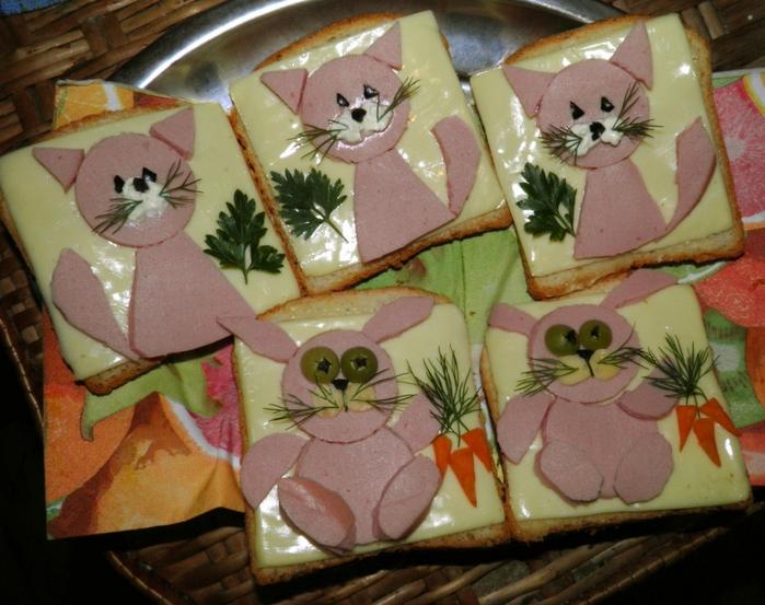 вкусные рецепты салатов и бутербродов
