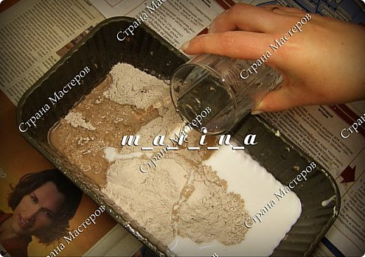 Декор предметов Мастер-класс Ассамбляж Почтовый ящик в технике Терра МК Гипс Краска Материал природный фото 9