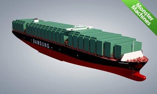 Грузовое судно SamsungHeavy Industries