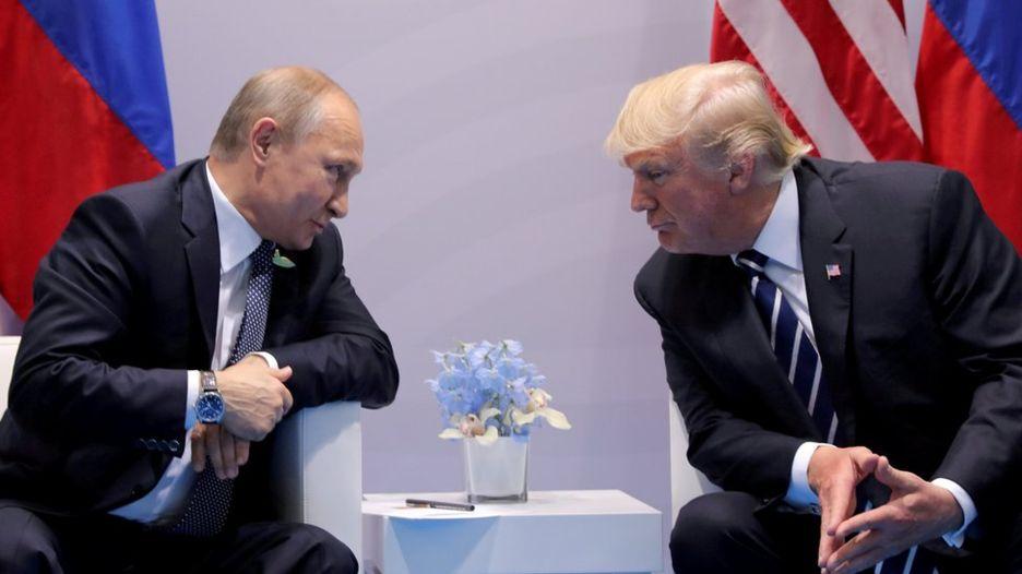 Встреча Трампа и Путина откл…