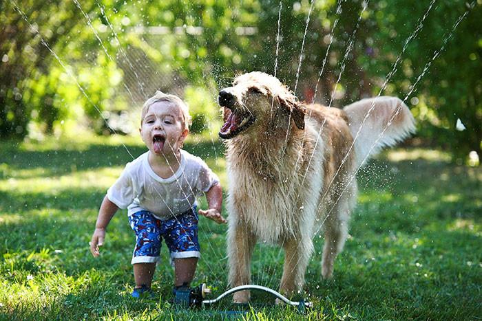 50 фотографий, доказывающих, что вашим детям нужна собака дружба, ребенок, собака