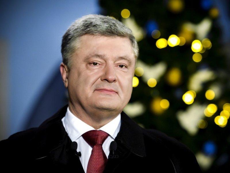 Порошенко обратился к жителям Крыма с новогодним обещанием