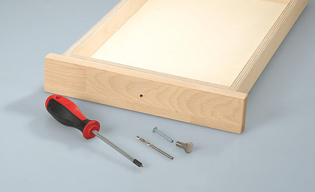 Разделочная доска с ящиком для ножей