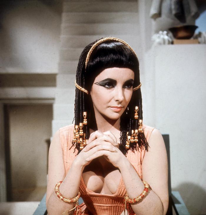 Элизабет Тейлор (Elizabeth Taylor) на съемках фильма «Клеопатра» (Cleopatra) (1963), фото 5