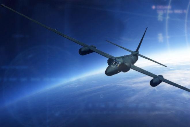 Полет на U-2 в «космос»: видео из кабины пилота