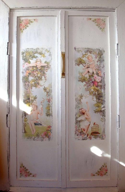 Декор двери. Мастер-класс