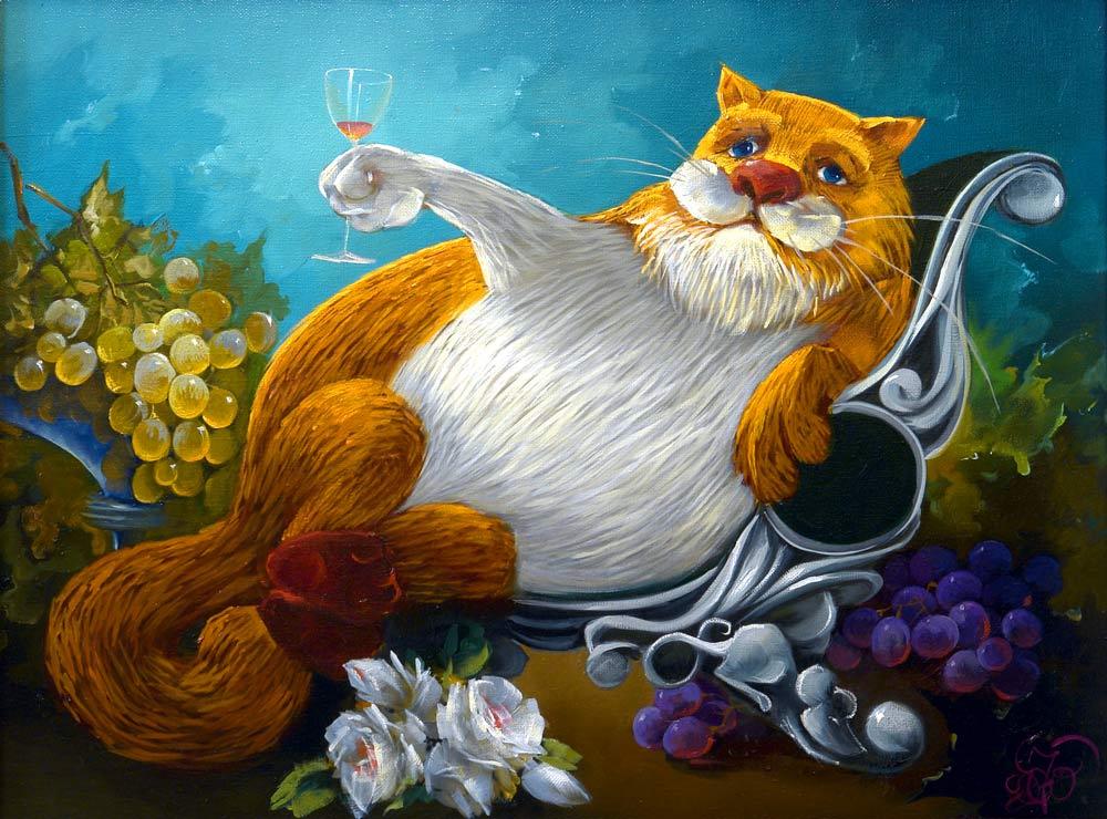 Позитивная Мяумуррия: иллюстрации Антона Горцевича
