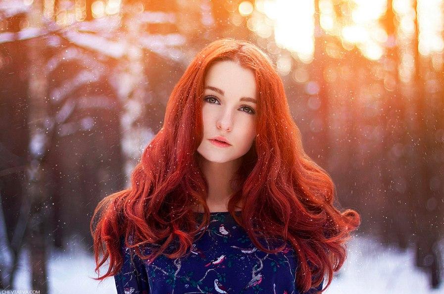 СТРАНИЦЫ ИНТЕРНЕТА : Рыжие девушки