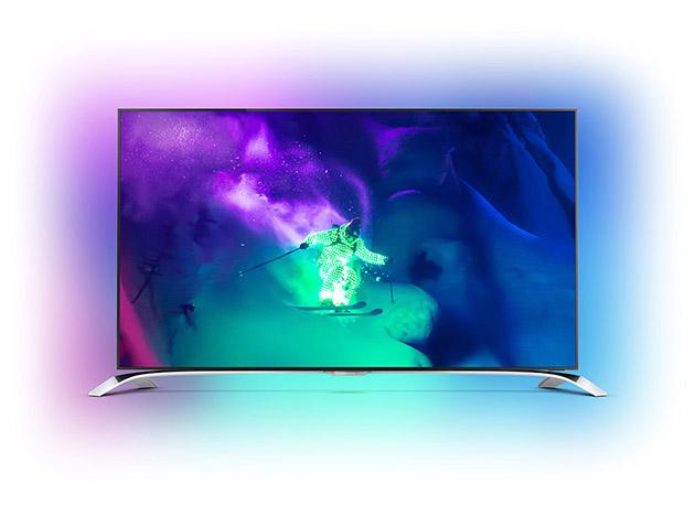 philips 9100 Philips представила новую линейку 4K телевизоров и медиаплеер
