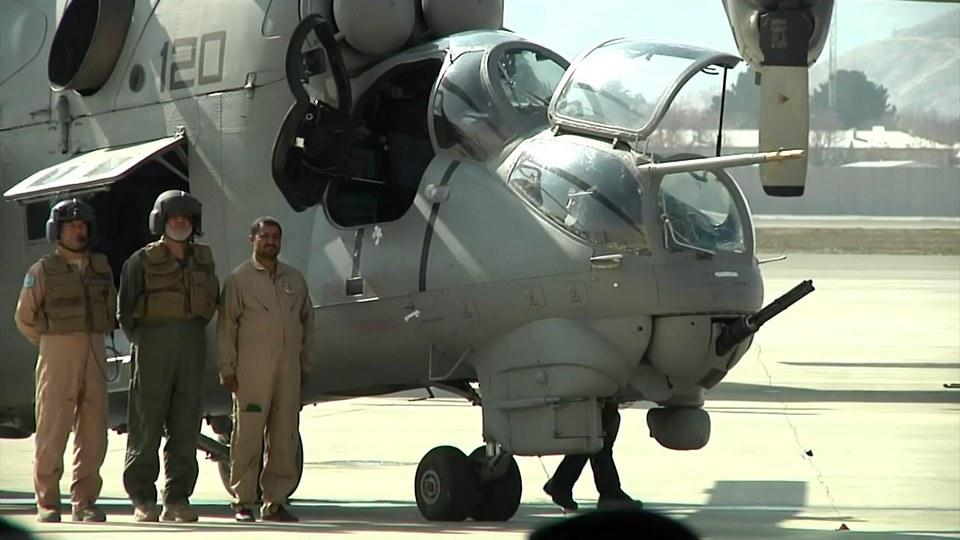 Перспективы афганских Ми-24