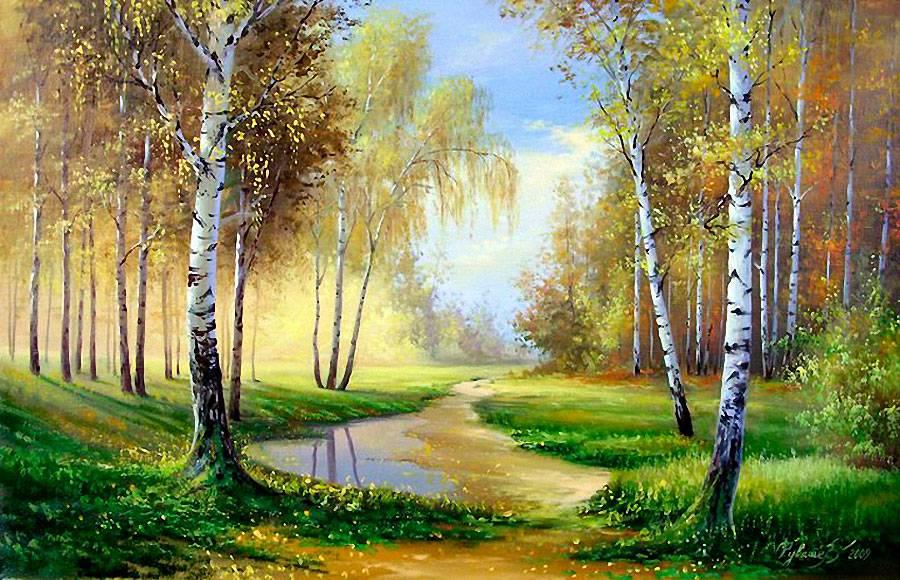 Белорусский художник Олег Чувашев
