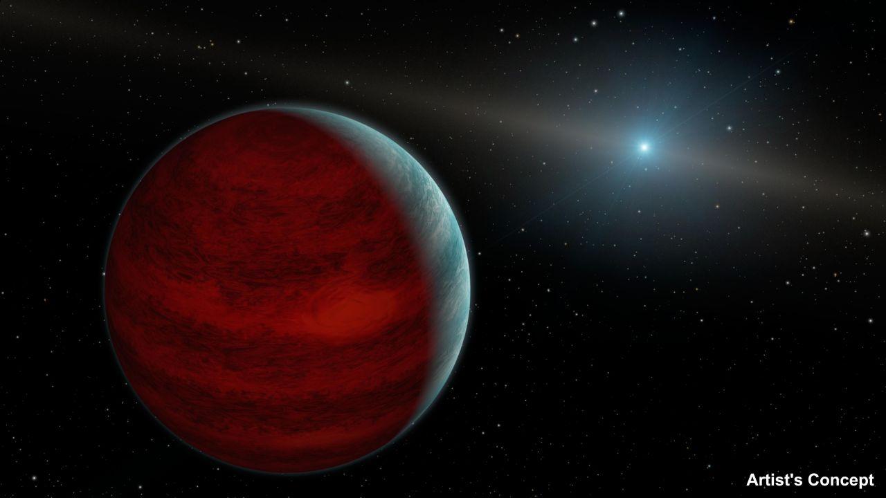 Планеты могут «омолаживаться» за счет материи умирающих звезд