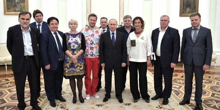 Путин выразил восхищение работой российских мультипликаторов