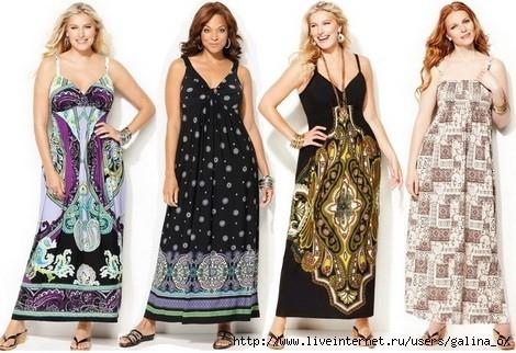 Сарафаны и платья для полных выкройки