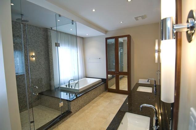 Как сделать подиум в ванной комнате