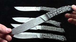 Ножи из цепей бензопилы