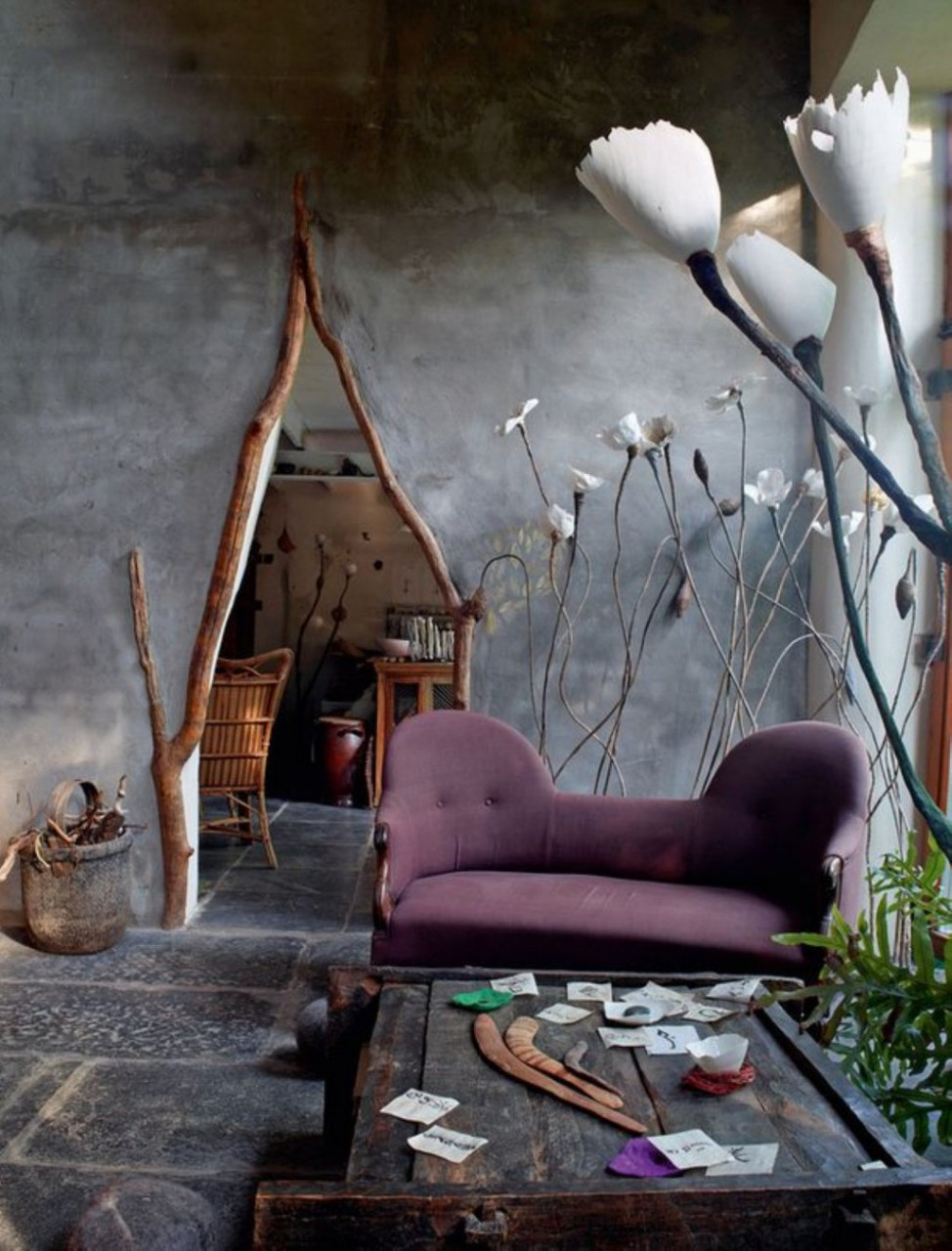 Сказочный дом художницы в провинции Фландрия, Бельгия