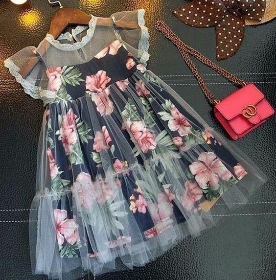Платья для девочек. Идеи для…