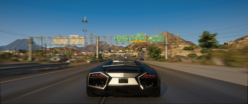 GTA 5 выглядит сверхреалистично благодаря моду NaturalVision Remastered