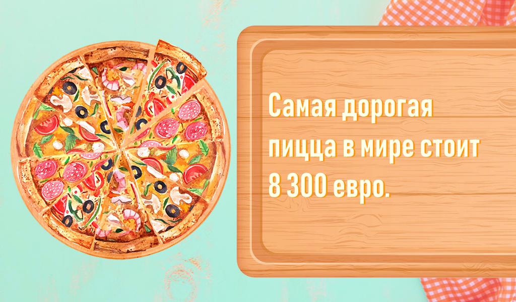 «Самая дорогая пицца в мире …
